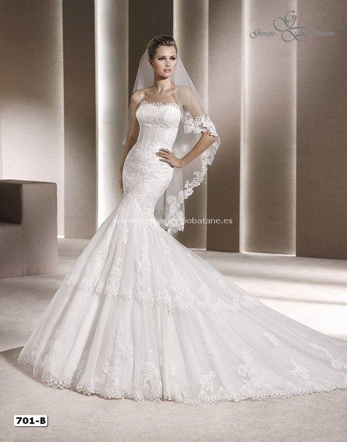 vestido de novia barato Giorgio Batane