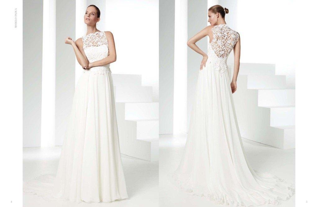 vestidos de novia sencillos y elegantes - diario de una novia