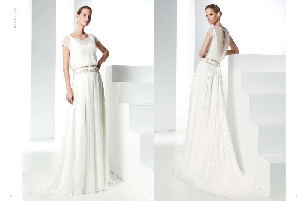Vestidos de novia sencillos por la iglesia
