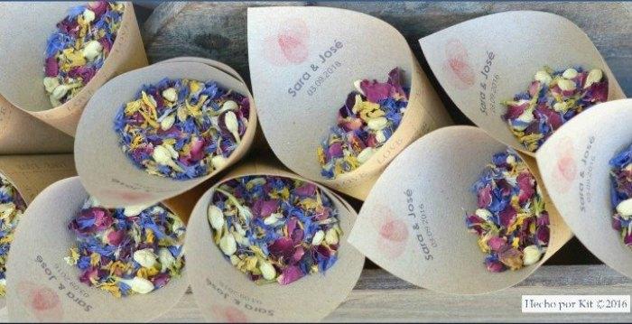 Fiore di confetti de hecho por kit