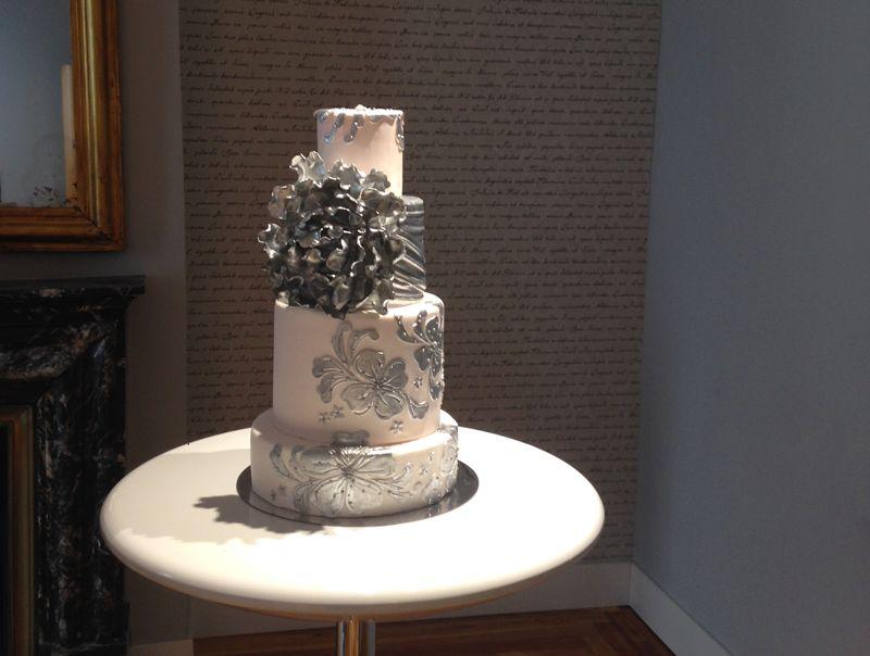 tarta para boda de diseño