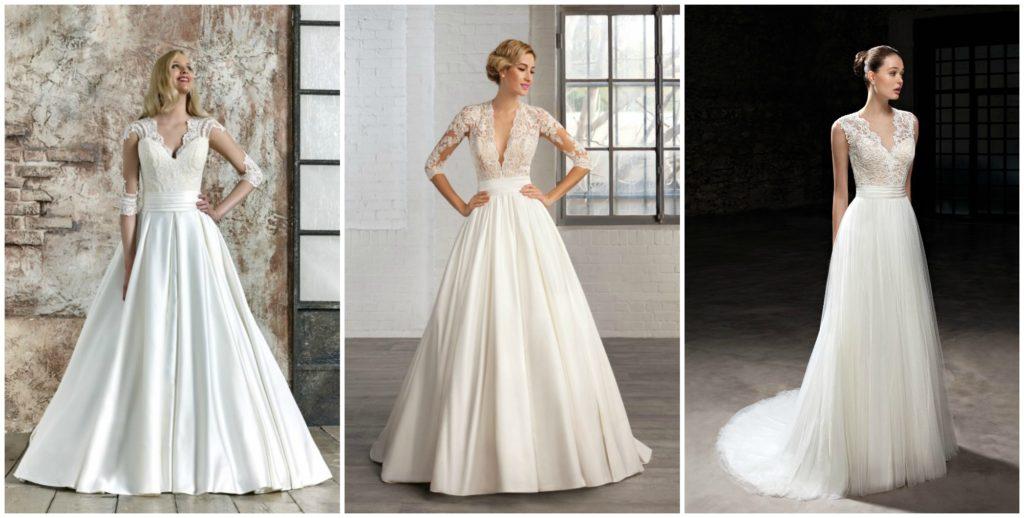 vestido de novia de talla grande