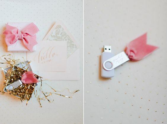 USB personalizados envoltorios-para-cajita-y-lazo-rosa