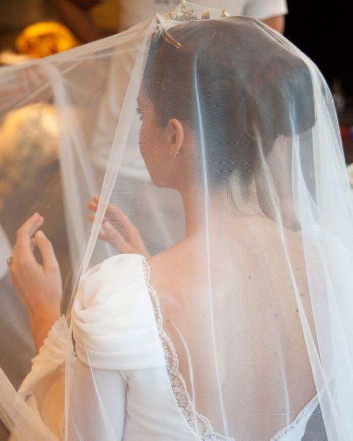 novia velada en boda
