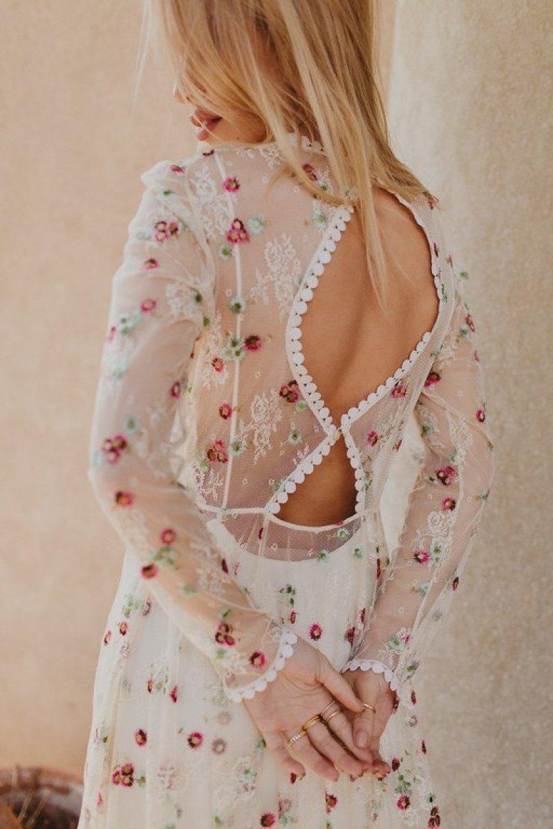 Vestido de Novia Bohemio Immacle Tanger 7