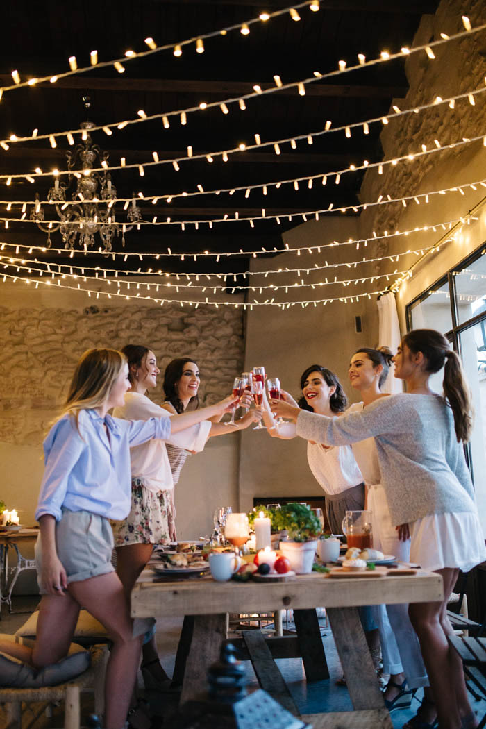 BRIDAL PARTY TOGETHER   JARDINMAMAANA 196 - Una Bridal Party Mediterránea