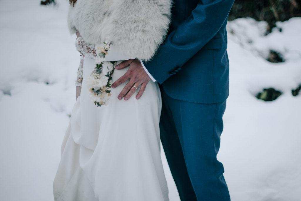 postboda en la nieve Tania y Rober 8 - Postboda en la Nieve del Valle de Arratia