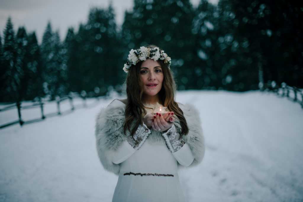 postboda en la nieve Tania y Rober 9 - Postboda en la Nieve del Valle de Arratia