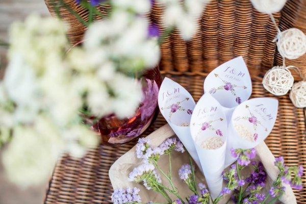 Conos DIY para arroz Boho - Kit de Conos para Arroz Boho