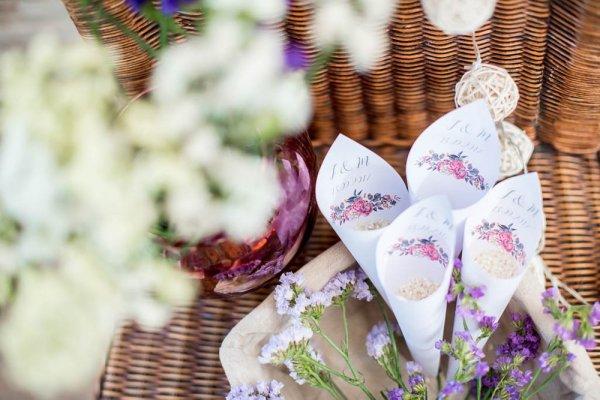 Conos DIY para arroz floral - Kit de Conos para Arroz Floral