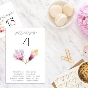 Seating Plan Magnolia - Diario de Una Novia Shop Online