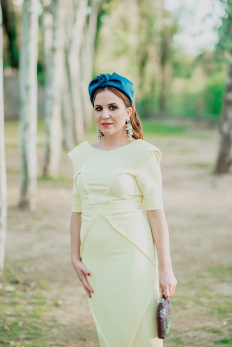 Trini vestido amarillo 1002 - Novias e Invitadas de Inma Linares