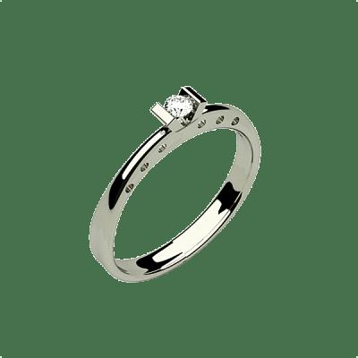 anillo de compromiso barato de Joyas Hada