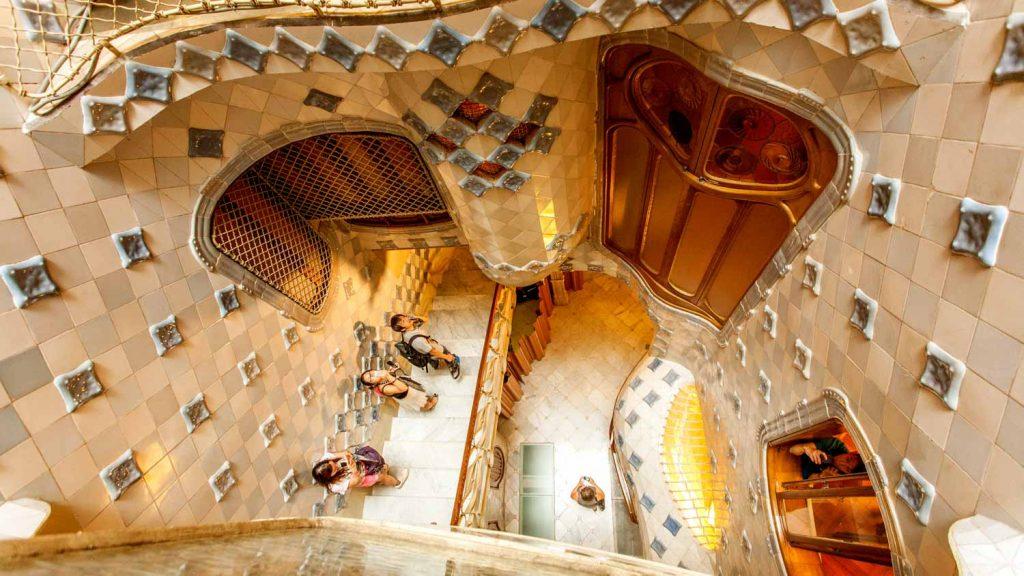 Casa Batlló pasillos