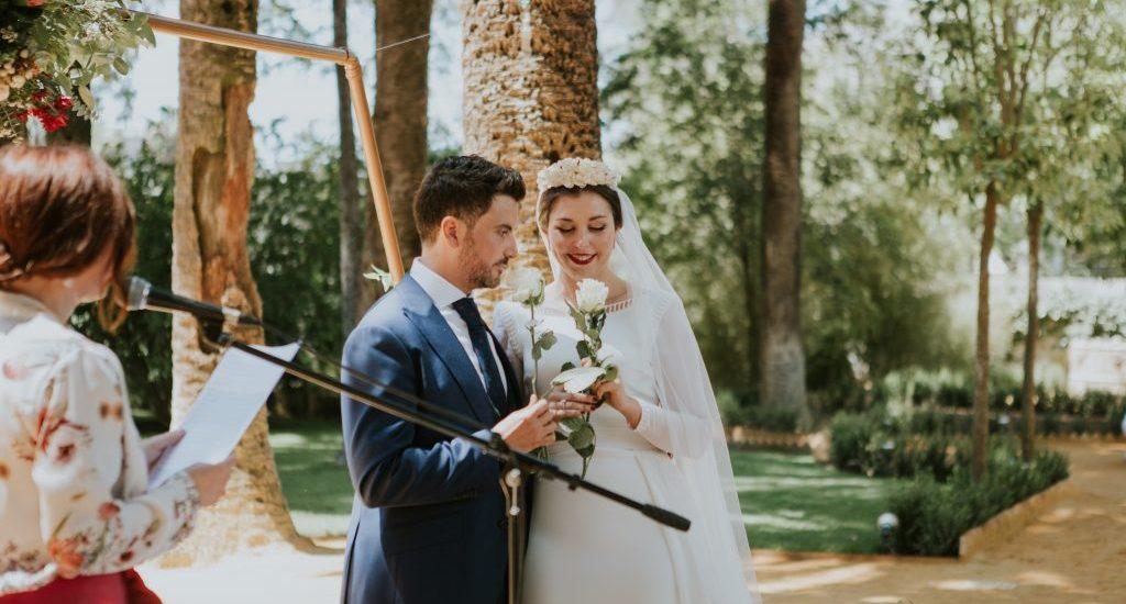 Foto de Silvia Sanchez Fotografía en la boda bilingüe de María y Javier