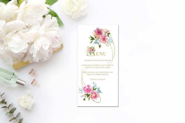 Minutas Flower Gold 2019 - Minutas Flower Gold