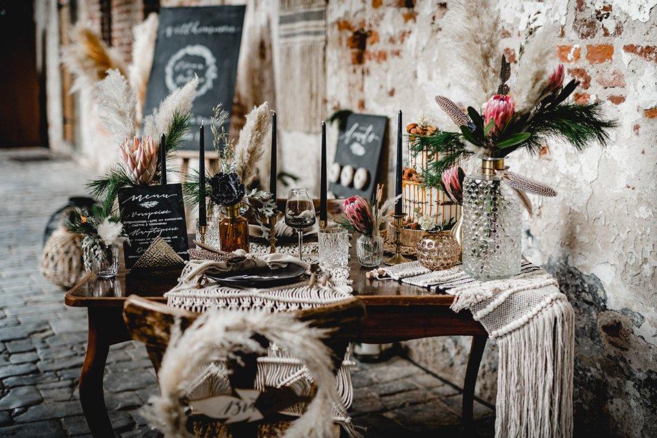 Rincon boda bohemia - Ideas para la Decoración de Bodas Bohemias