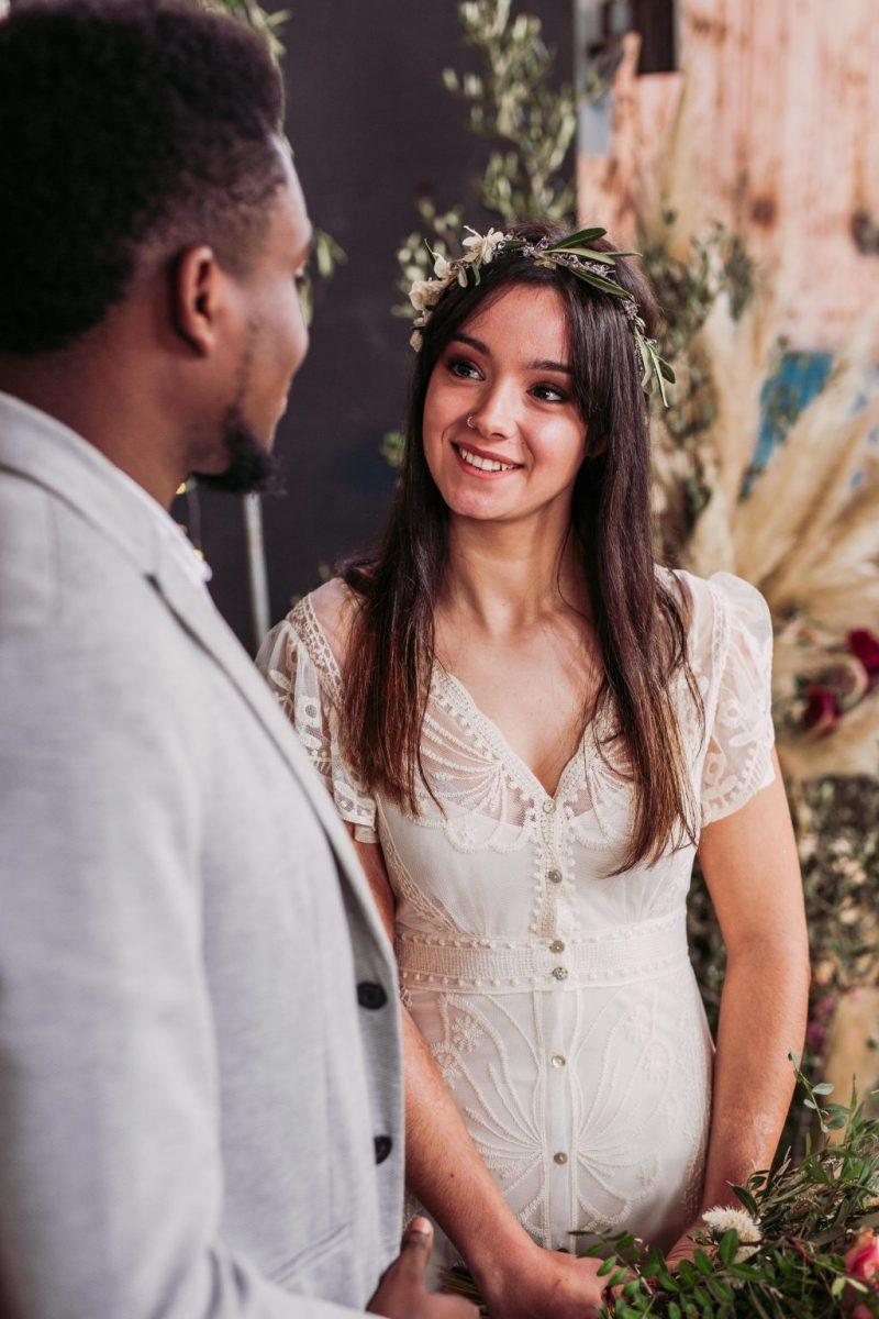 Inspiración para boda industrial editorial 13 - Inspiración para una Boda Industrial y Boho