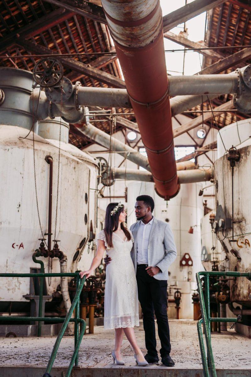Inspiración para boda industrial editorial 4 - Inspiración para una Boda Industrial y Boho