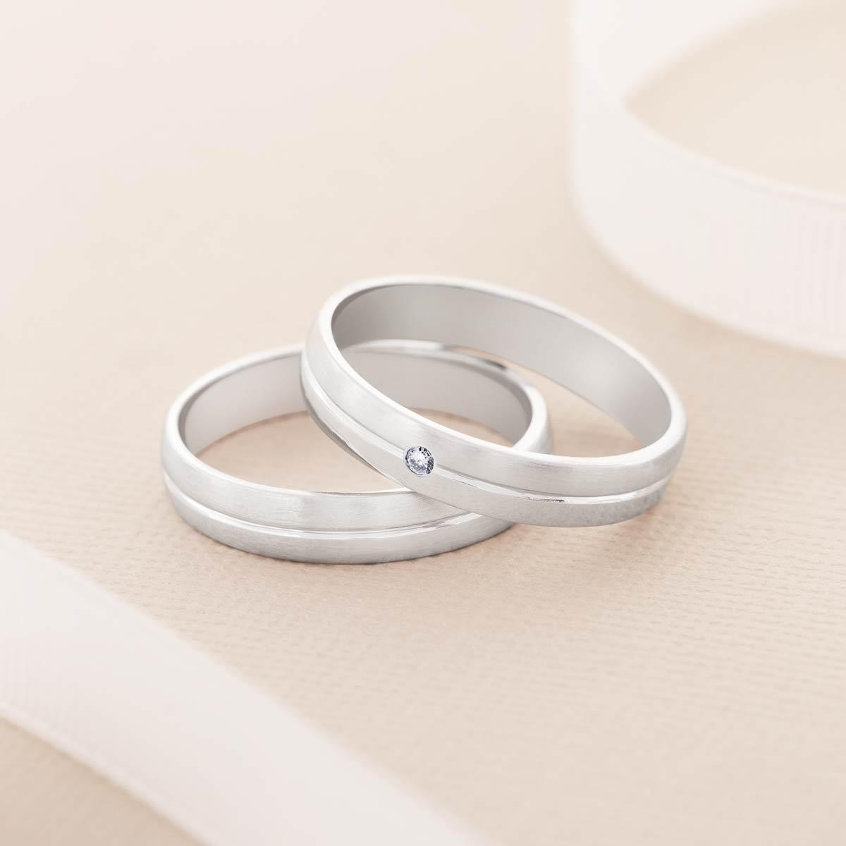 Tipos de alianzas de boda 35 - Los 6 Tipos de Alianzas de Boda que Puedes Elegir