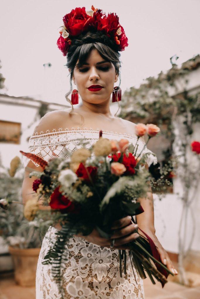 Inspiracion elopement Frida Khalo 9 - Inspiración Elopement con un Toque de Frida Khalo