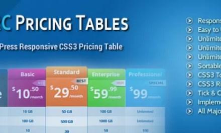 Los mejores plugins gratuitos de tabla de precios para WordPress