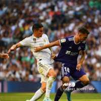 El Bernabéu ovaciona a Jmaes Rodriguez