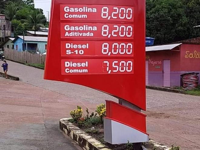 Acre has a long history of high fuel prices