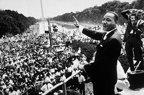 A história americana tem figuras inspiradoras como Martin Luther Kink