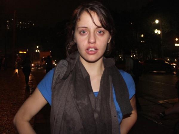 Melannie Schisler, estudante de geografia