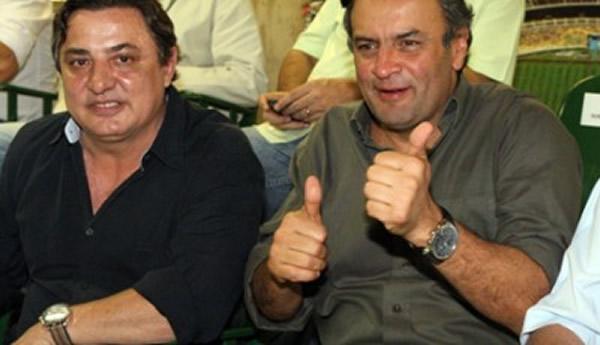 Resultado de imagem para Aécio Neves e Zezé Perrella