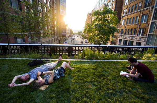 O High Line Park, de Nova York