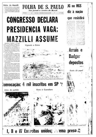 press-folha-2-de-abril-de-1964