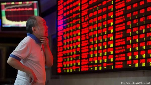 Bolsa da China: crise mundial