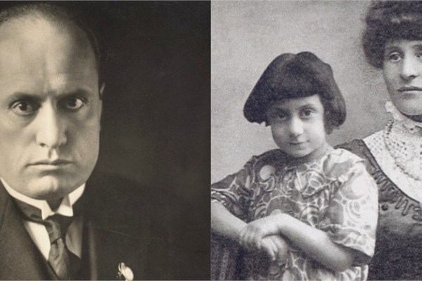 Para Mussolini, Ida e o pequeno Benito eram um risco