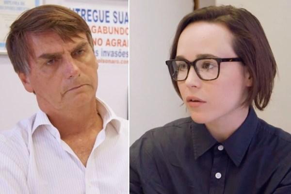 Show de primitivismo de Bolsonaro diante de Ellen