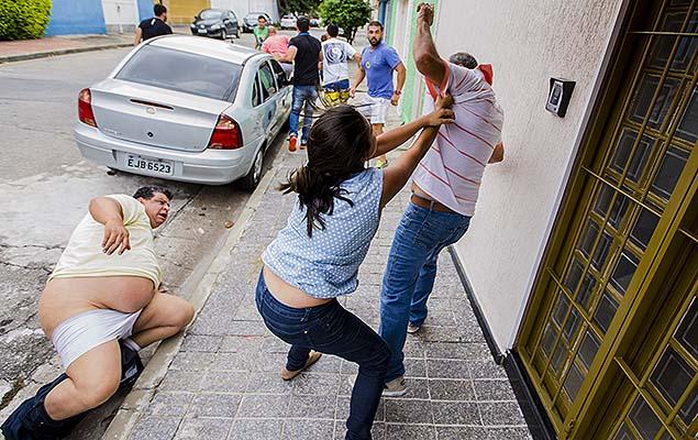 Militantes do PSDB partem para a ignorância nas prévias no Tatuapé (SP)