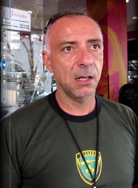 O delegado Nogueira