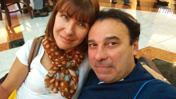 Frederico e a mulher Silmara Brandi, que presenciou o assassinato e fugiu com ele
