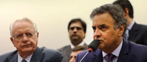 Carlos Velloso e Aécio Neves