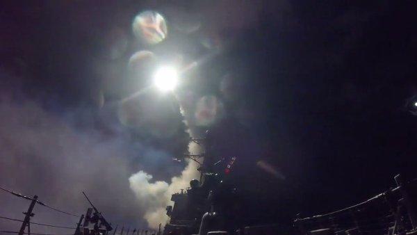 Mísseis Tomahawk na Síria