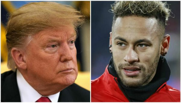 Donald Trump and Neymar Jr. are two of those protected by Facebook