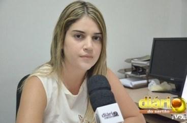Apoliana Ferreira, diretora do Hospital Materno Infantil (foto: Charley Garrido)
