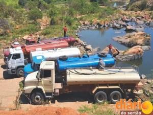 Carros pipas serão abastecidos em Lagoa do Arroz