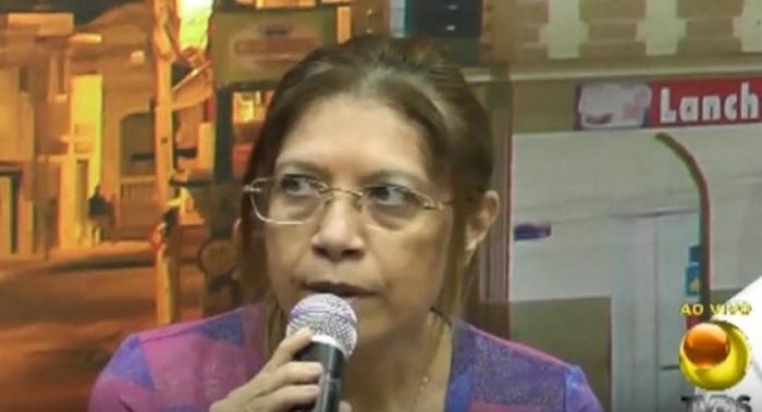 Debate de Carnaval 2016, prefeita Denise Albuquerque