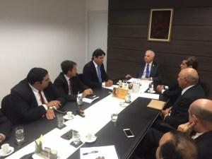 Reunião entre OAB Cajazeiras, OAB Paraíba e presidente do TJPB