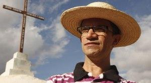 Padre Djacy Brasileiro lidera populares em mobilização pela transposição no rio Piancó