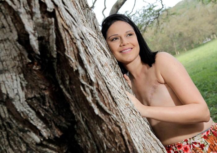 Mariana teve câncer nas duas mamas (Foto: ER fotografia - Eduardo e Raquel)
