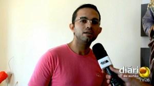 Gildeilson Paulino, secretário da Paróquia São José Operário em Cajazeiras
