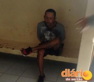 Polícia prendeu acusado de assalto